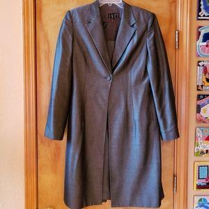 I.N.C. International gray dress w/duster 10